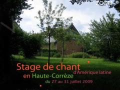 Foto Stage de chant d'Amérique latine