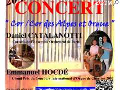 "picture of Concert ""Cor d'harmonie/cor des Alpes et orgue"