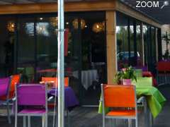photo de la terrasse des gourmets