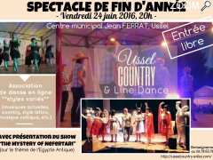 Foto Spectacle de fin d'année Ussel COUNTRY & Line Dance